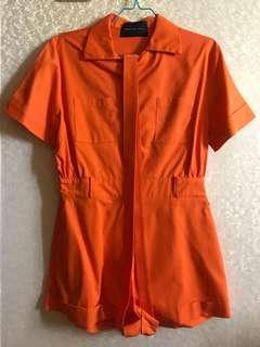 Noho The Label Orange Jumpsuit