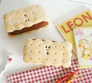 sandwich cookies zip pouch