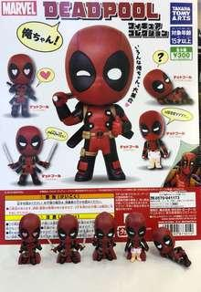 Marvel Deadpool 死侍 扭蛋