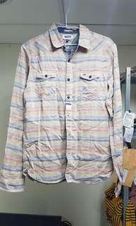 全新真品Tommy休閒襯衫S號,豐富細節、高質感