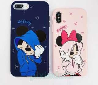 mickey and minnie mouse couple phone casing