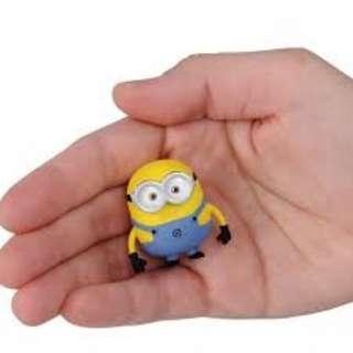 全新有包裝紙盒金屬人仔Takara Tomy  迪士尼Disney Figure -壞蛋獎門人迷你兵團 手可移動Metacolle Minion Bob