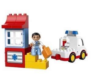 LEGO Duplo Ambulance Set 10527 Age 2 to 5 Years (13 pcs.) Retired