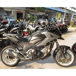 Honda NC750XA 2016 D/P $500 or $0 With out insurance (Terms and conditions apply. Pls call 67468582 De Xing Motor Pte Ltd Blk 3006 Ubi Road 1 #01-356 S 408700.