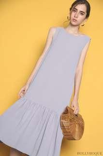 🚚 Hollyhoque Boston Pocket Maxi Dress in Lilac