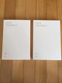 BTS Love Yourself: Her L and O versions