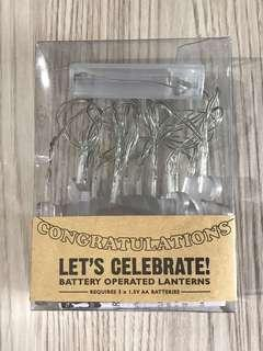🚚 Happy Birthday LED letters (Battery operated)