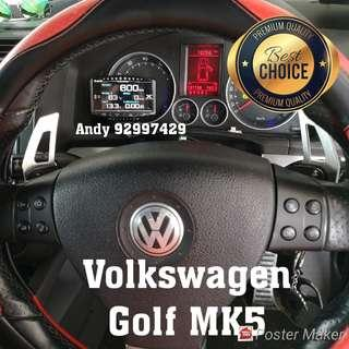 Volkswagen Golf Mk5 Lufi X1 Revolution OBD OBD2 Gauge Meter display