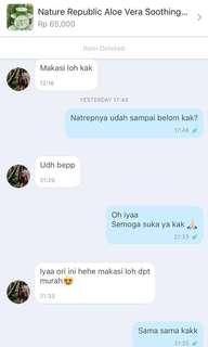 Nature republic aloevera(testi)