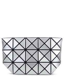 Issey Miyake Bao Bao Silver Pouch Toiletry Cosmetic Clutch