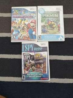 🚚 Wii games/ Pikmin/ Fortune street/ I Spy