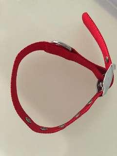 Liverpool FC (LFC) dog collar size small
