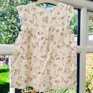 Next UK Baby Dress Size 9-12M