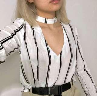 PACSUN sheer blouse