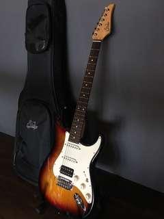 Suhr Classic Pro Sunburst Electric Guitar