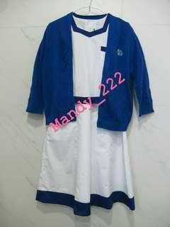 DGS 拔萃女書院 女拔 夏季 校服 校裙 外套 Diocesan Girl School Summer Uniform Cardigan mandy_222 (SU012)
