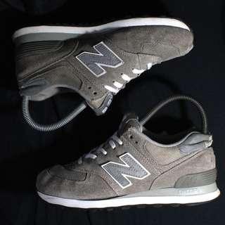 Authentic New Balance 574 Core Reflective Gray