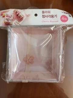 櫻花便當盒 4pieces with lid and tape