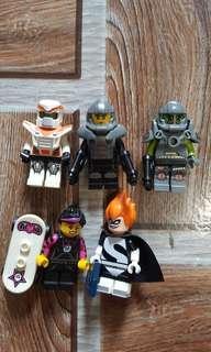 Lego disney series minifigure combo