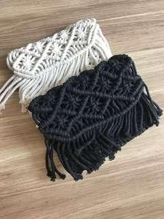 🚚 Hand Crotchet clutch purse