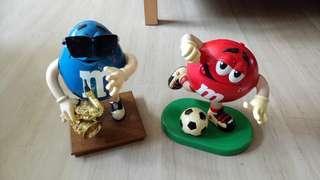 M&M figurine