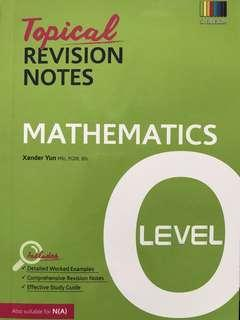 Emaths O Level Topical Revision Notes