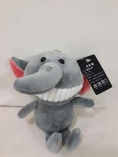 🚚 香造公仔(灰色小象)