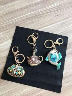 Assorted key holders