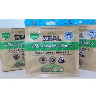 Zeal Wild Caught Naturals Green Lipped Mussels