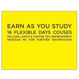 Earn as you study
