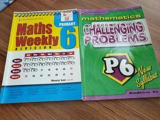 🚚 P6 math assessment book