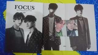 WTT - Jus2 Focus photocard, lyrics poster