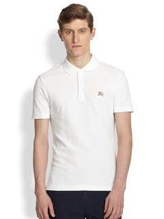 Burberry Brit White Cassius Cotton Polo Shirt