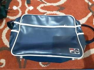 FILA, LEATHER SLING BAG