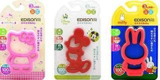 日本直送🐰超可愛造型Miffy/Kitty/Mickey牙膠
