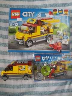LEGO 60150 美食車連人仔 齊件
