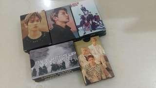 EXO Lomo Card Set