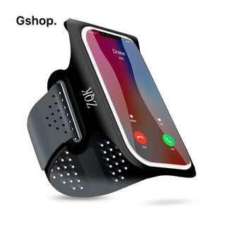 跑步手機臂包男女運動健身手機臂套可觸屏螢幕臂袋蘋果三星HTC通用手包