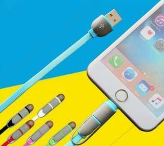 iPhone / Android USB Cable