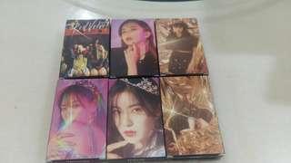 Red Velvet Lomo Card Set