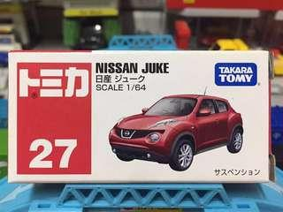 Tomica 車仔 No.27 絕版中製 Nissan Juke
