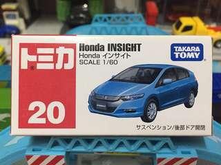Tomica 車仔 絕版 No.20 Honda Insight