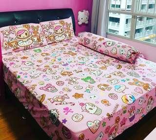 PreOrder Fitted Bedsheet Set ( No Comforter )