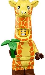 Lego Minifigures Lego Movie 2 71023 No.4 Giraffe Guy