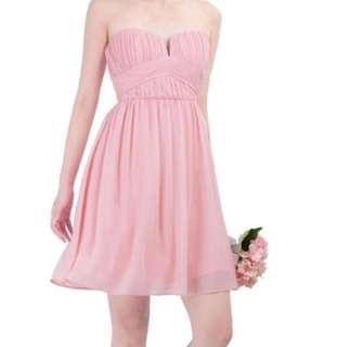 Doublewoot Pink long Dress