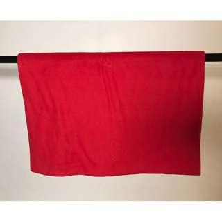 Ikea Red Throw