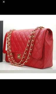 🚚 Looking for Chanel red GHW