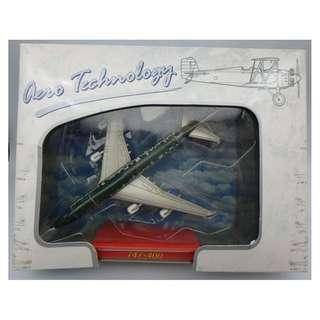 CATHAY PACIFIC 747-400DIE CAST METAL-BAKED ENAMEL FINISH 飛機 w/box