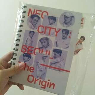 NCT127 NEOCITY IN SEOUL JAEHYUN INDEX NOTEBOOK + BOOKMARK