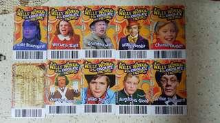 Timezone Coin Pusher Wizard of Oz Willy Wonka Golden Cards